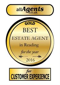 Best estate agent in Reading 2016!
