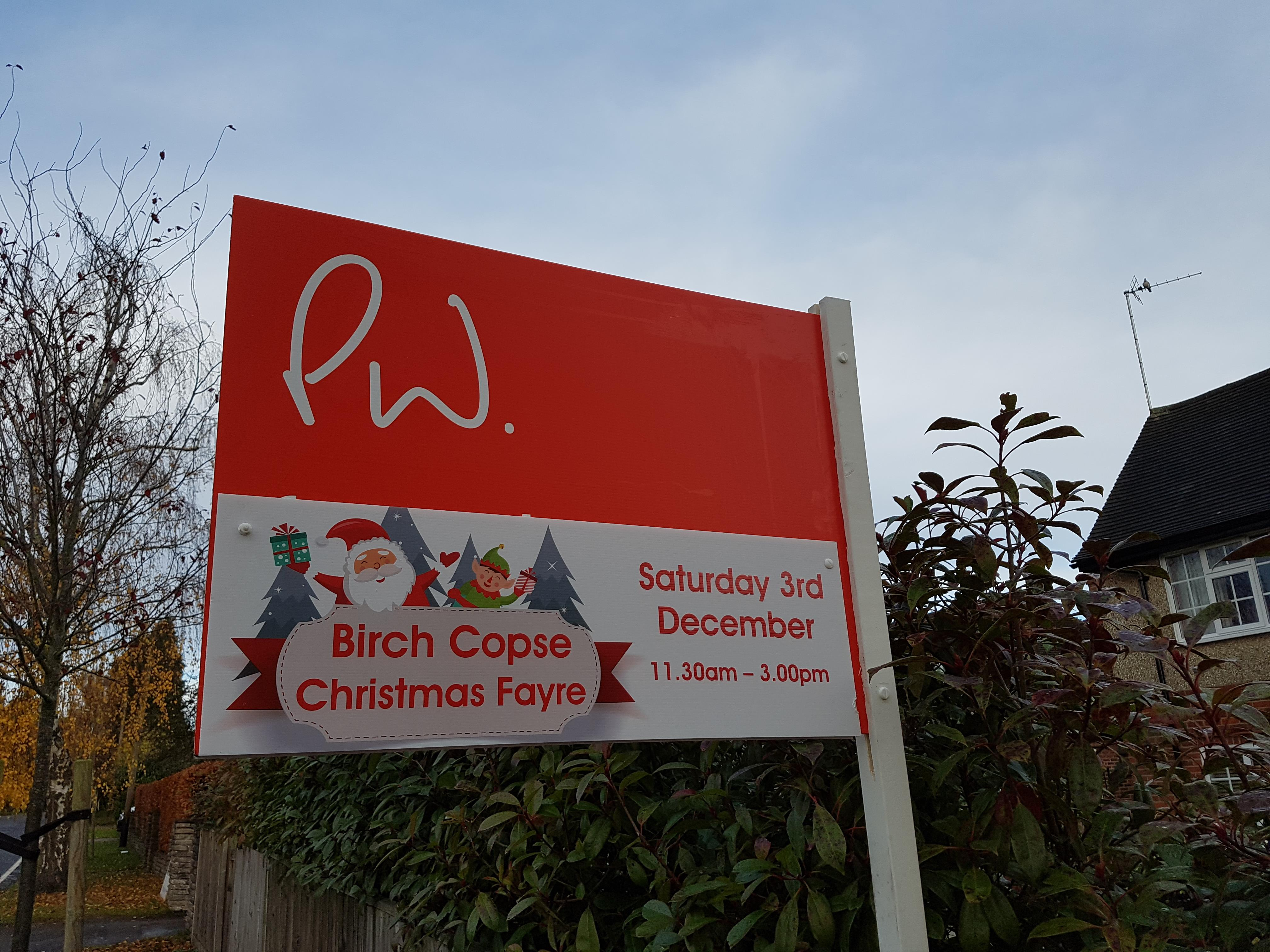Birch Copse Primary School Christmas Fair