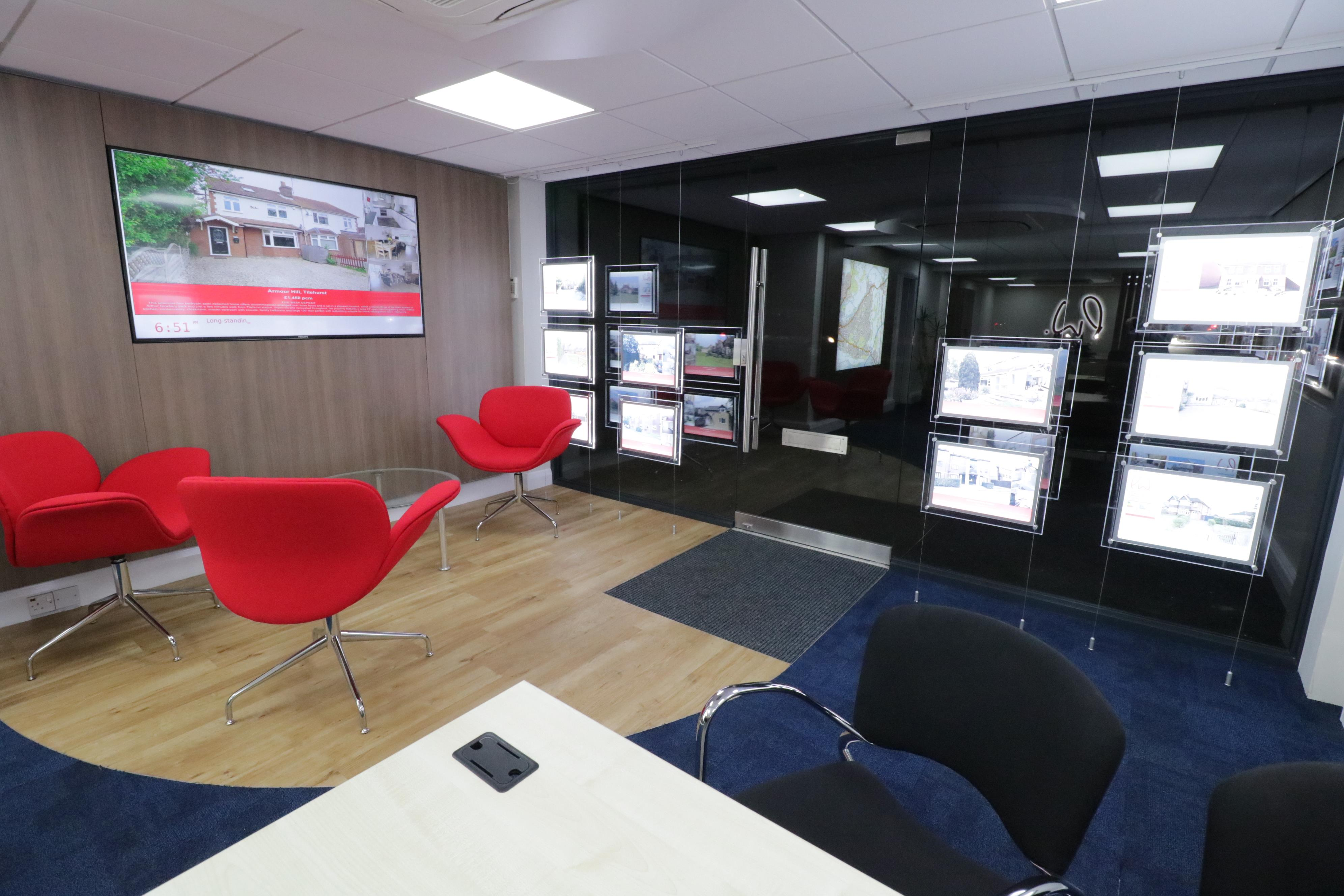 Tilehurst office refurbished!